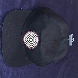 Checkered Vans Logo SnapBack Hat